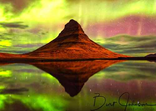 Iceland Ice and Auroras