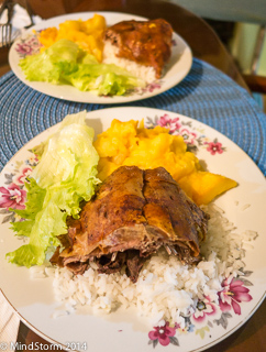 Cuy Dinner (guinea pig)