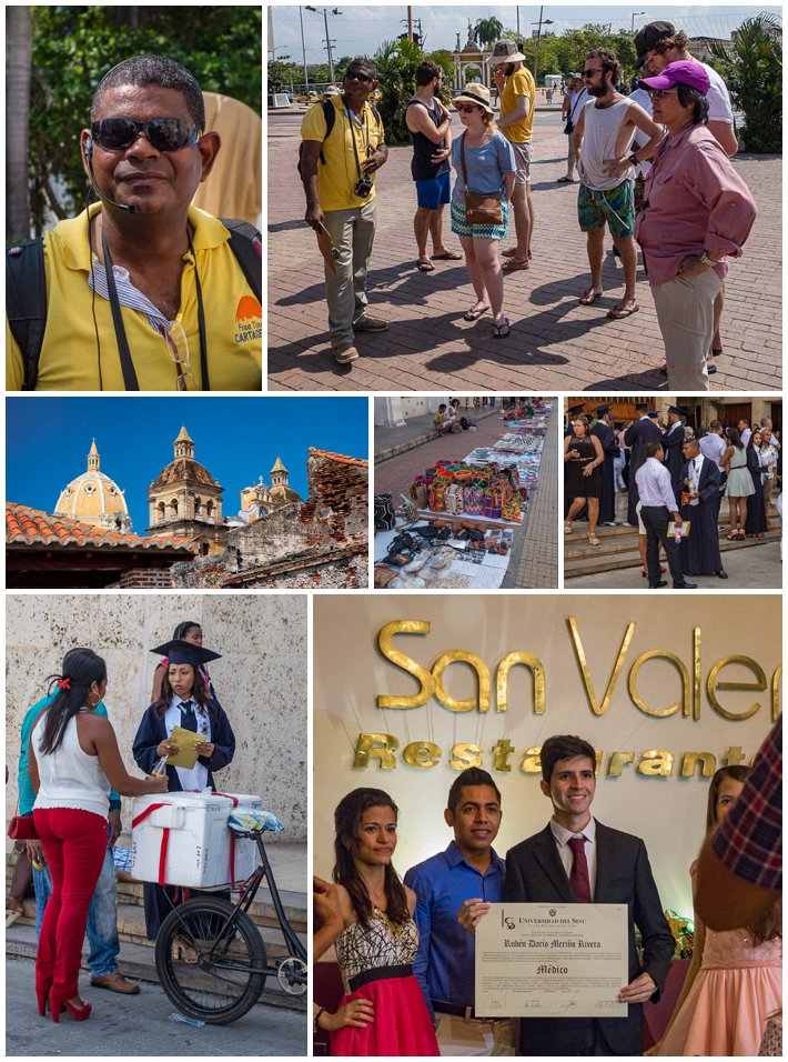 Cartagena Colombia - Walking Tour and Graduation