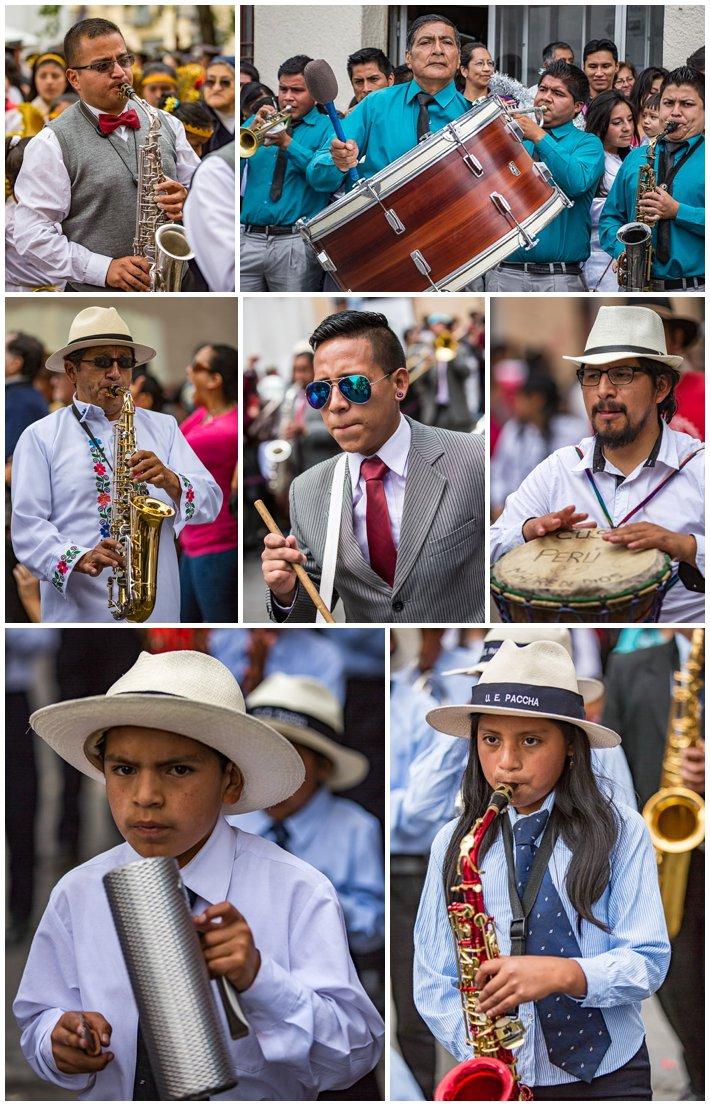 2015 Paseo Del Nińo, Cuenca Ecuador, music