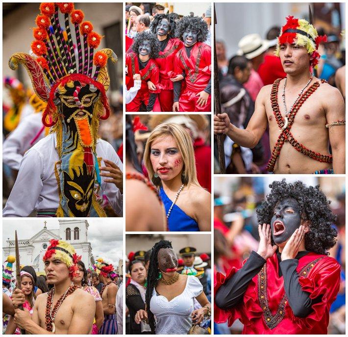 2015 Paseo Del Nińo, Cuenca Ecuador, costume