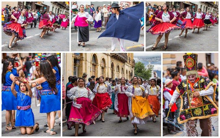 2015 Paseo Del Nińo, Cuenca Ecuador, dancers