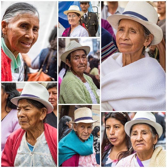 2015 Paseo Del Nińo, Cuenca Ecuador, old women
