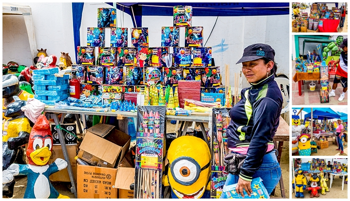 2015 New Year's Eve - Salinas Ecuador - Fireworks Sales
