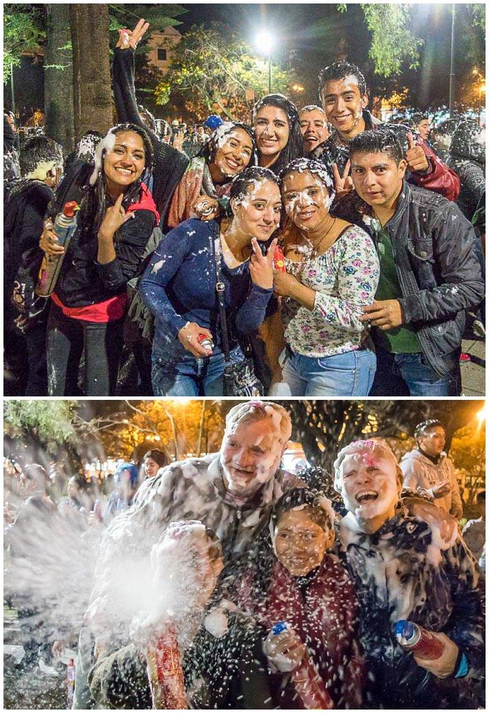 Godfather Fiesta, Cuenca, Ecuador - Fun