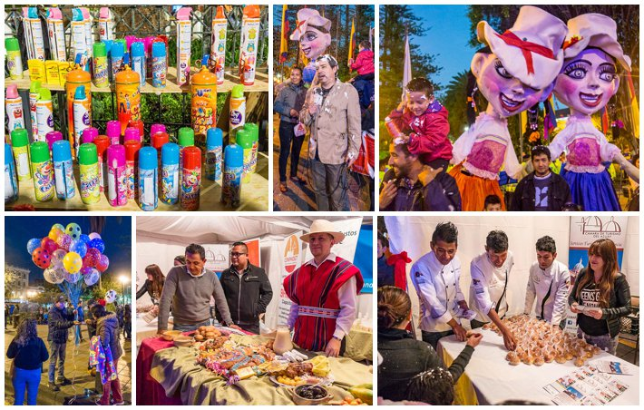 Godfather Fiesta, Cuenca, Ecuador - vendors