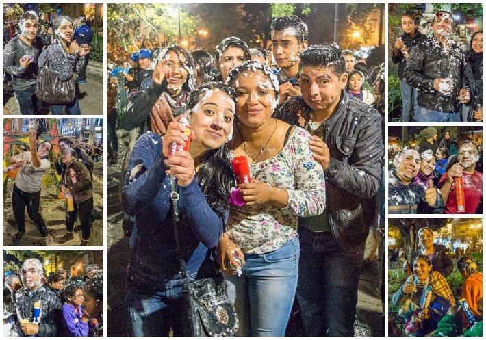 Godfather Fiesta, Cuenca, Ecuador - posed