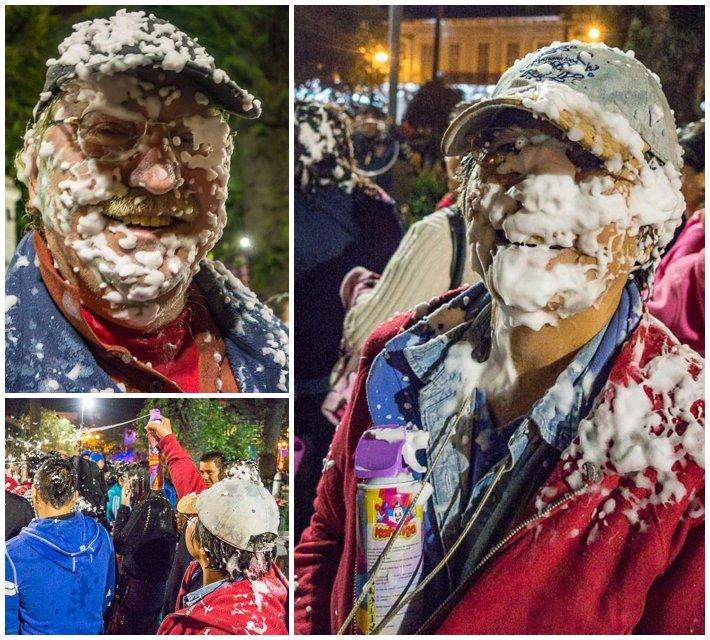 Godfather Fiesta, Cuenca, Ecuador - Burt and Evelyn
