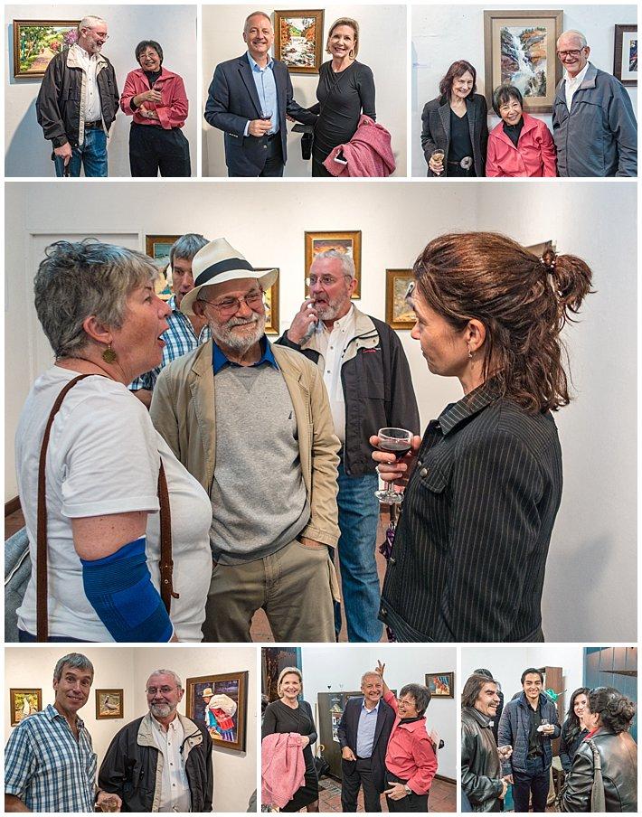 Evelyn Johnson Art Show - group2