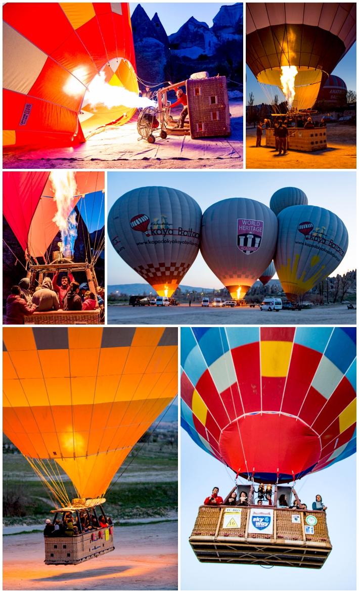 Cappadocia Hot Air Balloon Launch