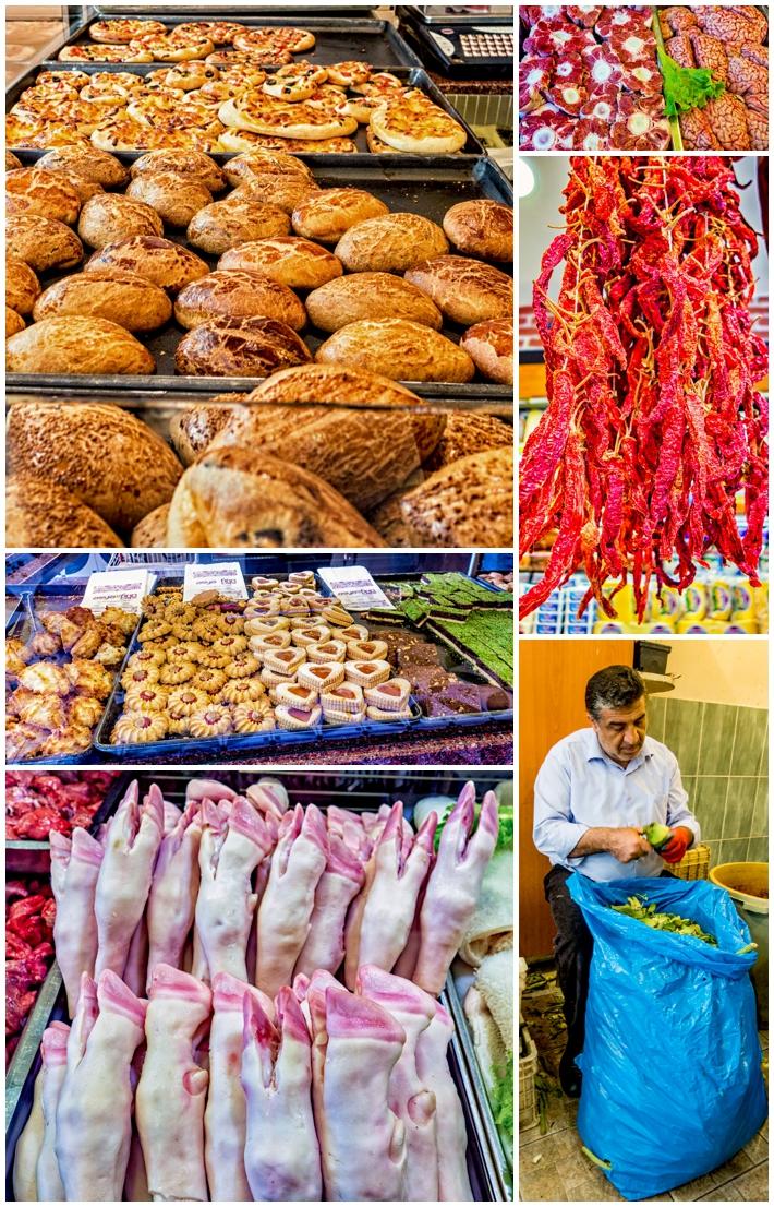 Cookistan cooking class - local food vendors