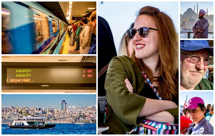 Istanbul transportation, ferry, metro, subway