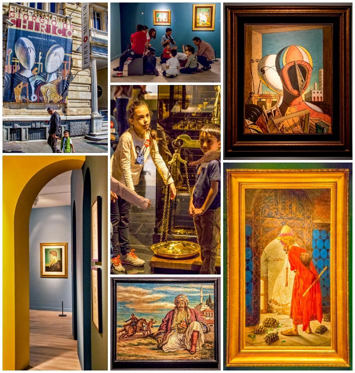 Istanbul Pera Mueum art show