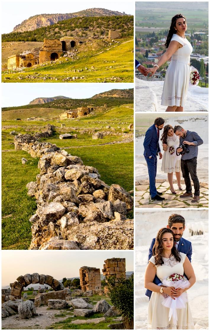 Pamukkale castle and wedding