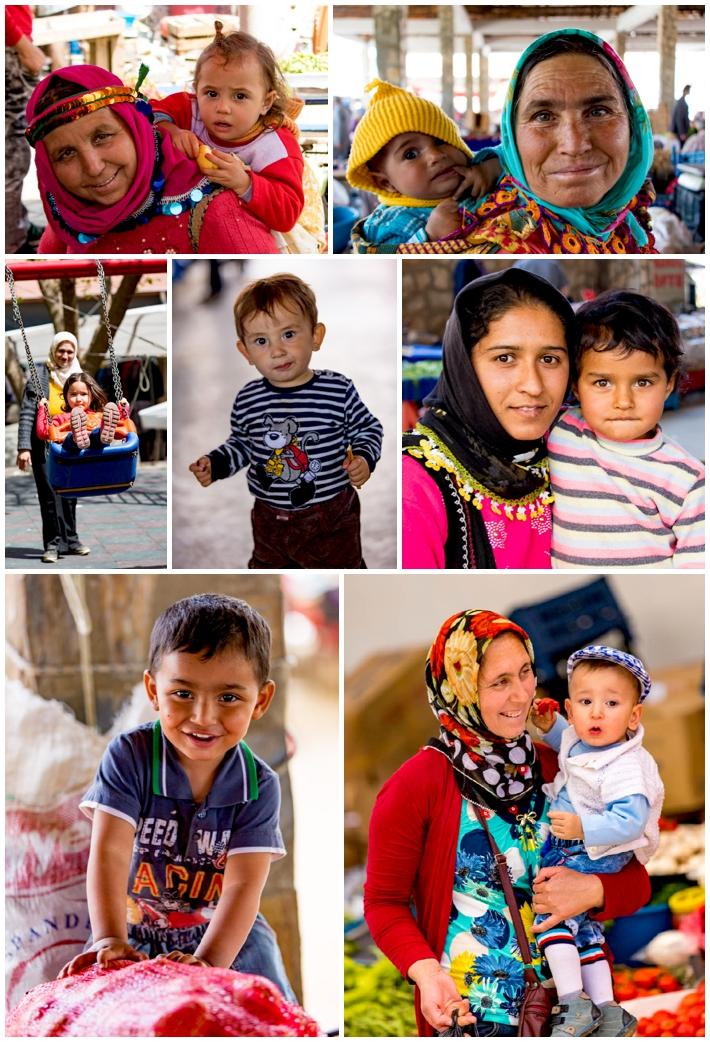 Karacasu market children