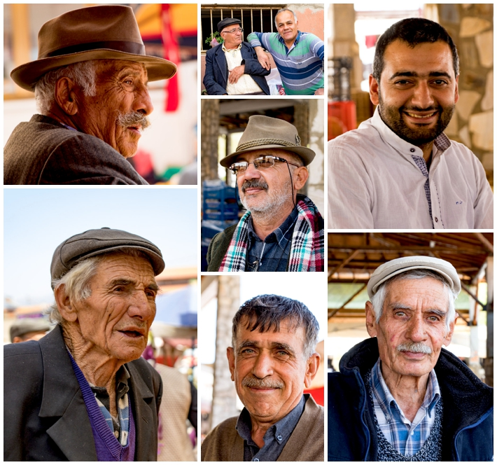 Karacasu market men