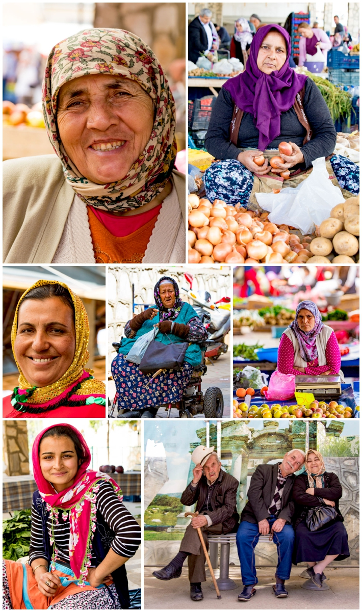 Karacasu market women