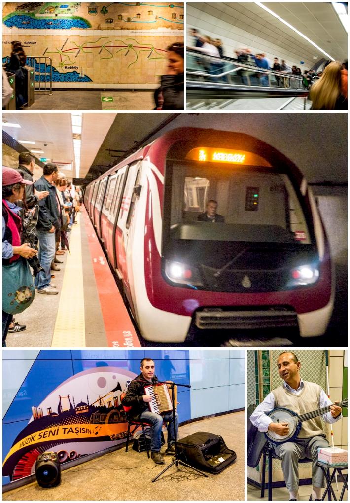 Instanbul Meto underground subway