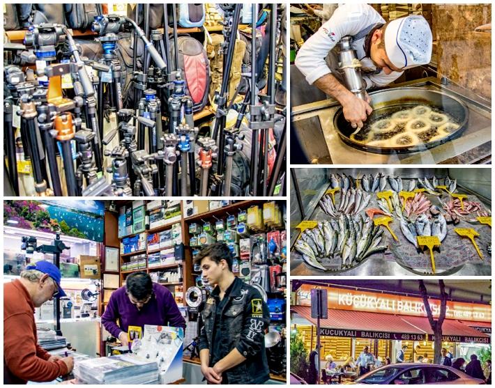 Istanbul camera stores restaurant