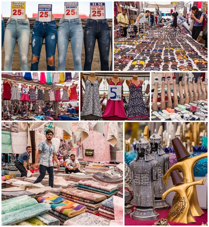 Tarihi Sali Pazari Bazaar Istanbul Turkey stuff for sale