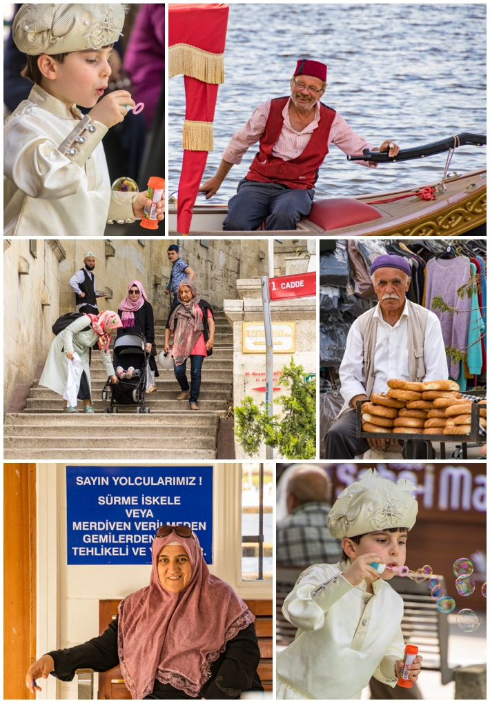 Eyup Istanbul Turkey people vendors