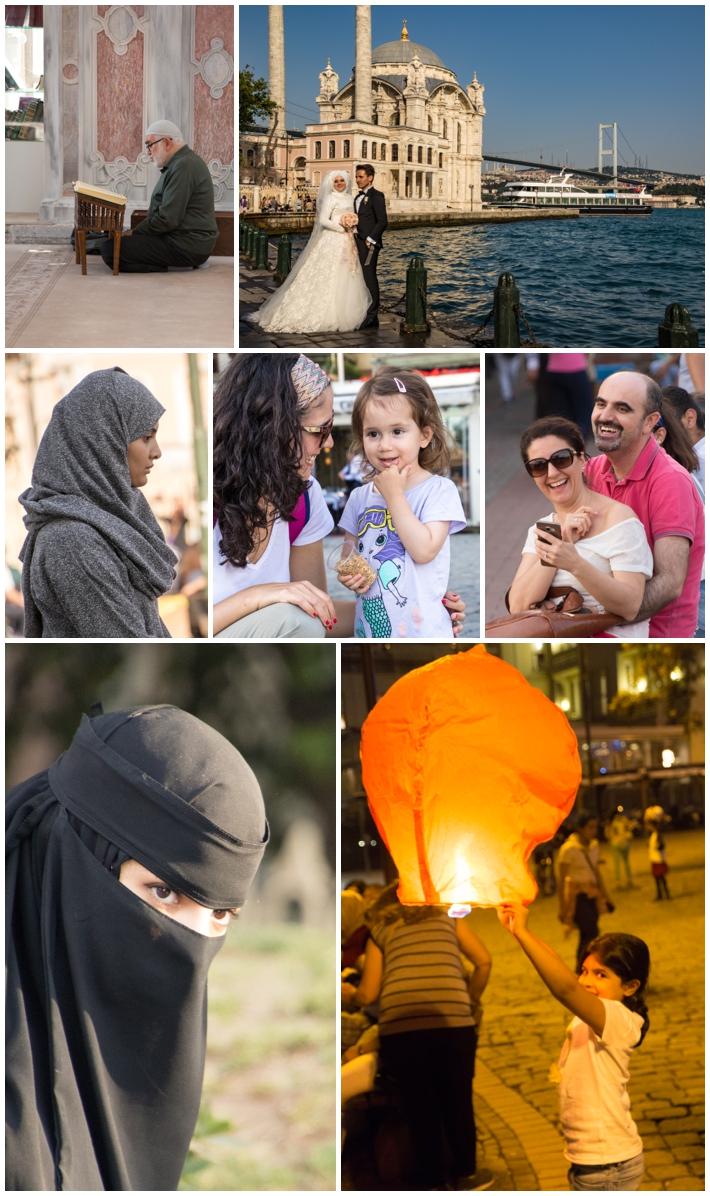 Ortakoy Istanbul Turkey people
