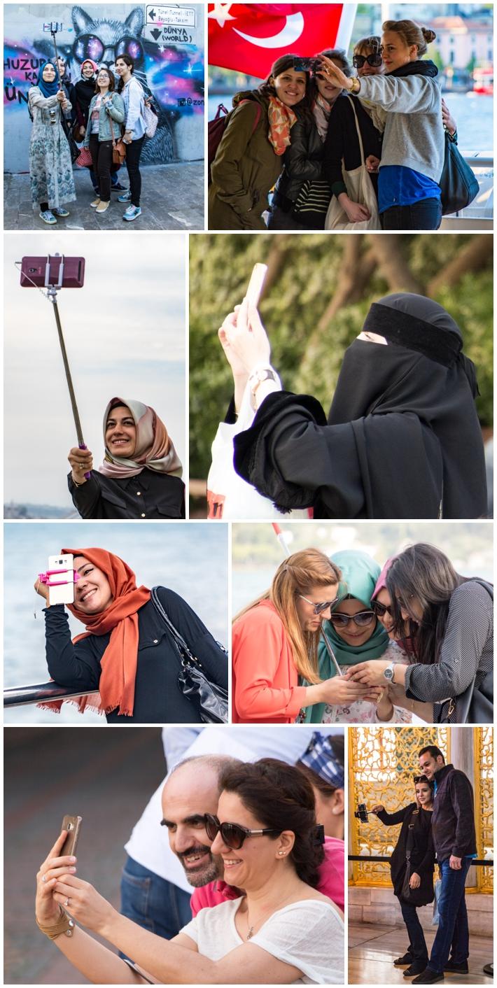 Istanbul Turkey camera selfie