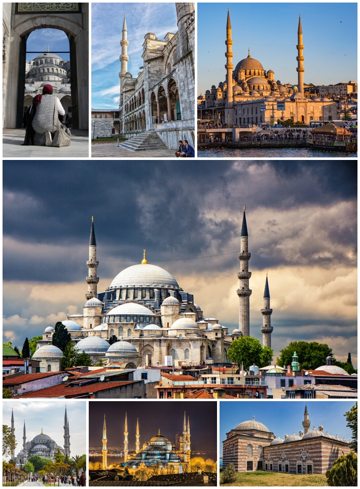 Istanbul Turkey Mosques
