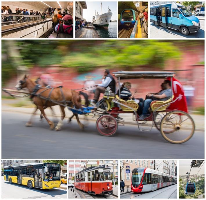 Istanbul Turkey transportation