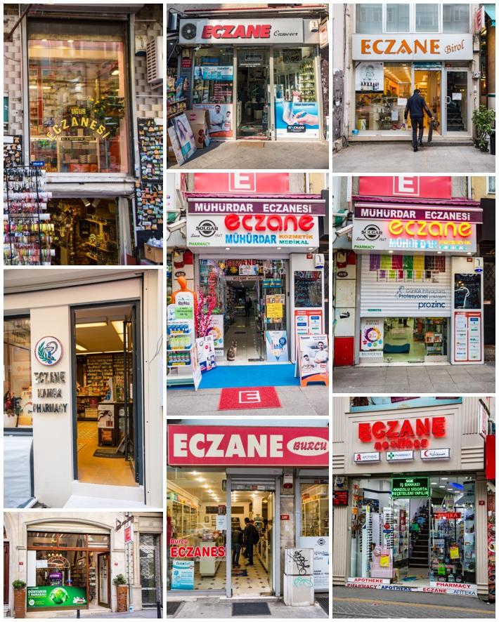 Istanbul Turkey pharmacy