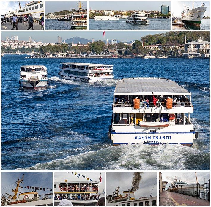 Istanbul Turkey Ferry Ferries Transportation