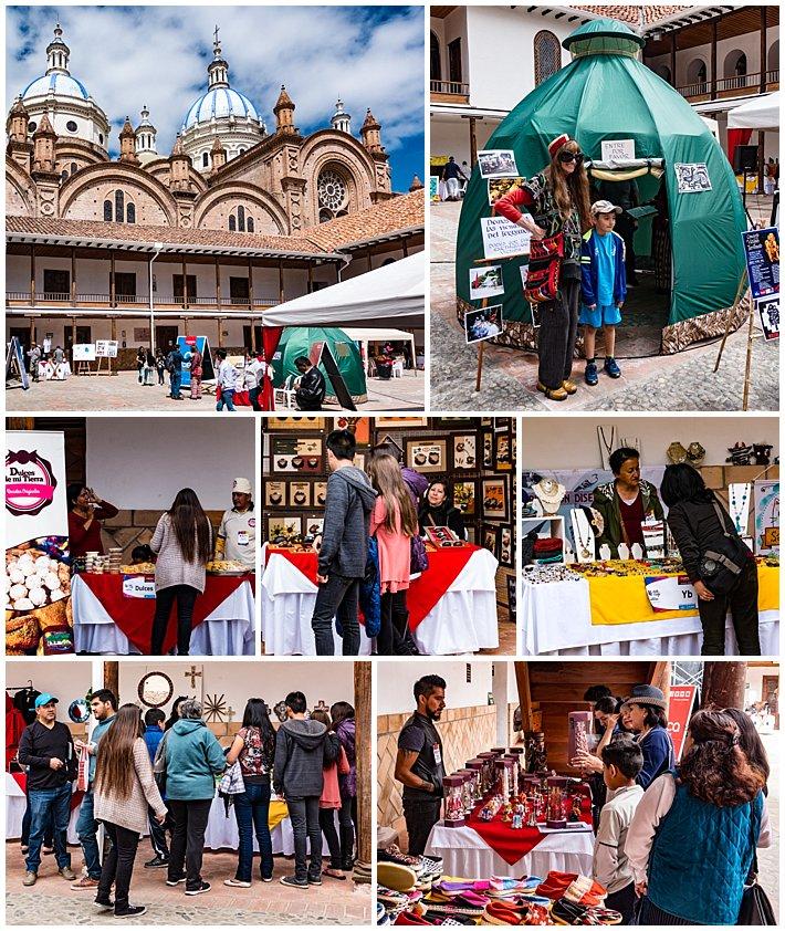Cuenca Ecuador Festival for Earthquake Victims of Manabi Solidaridad