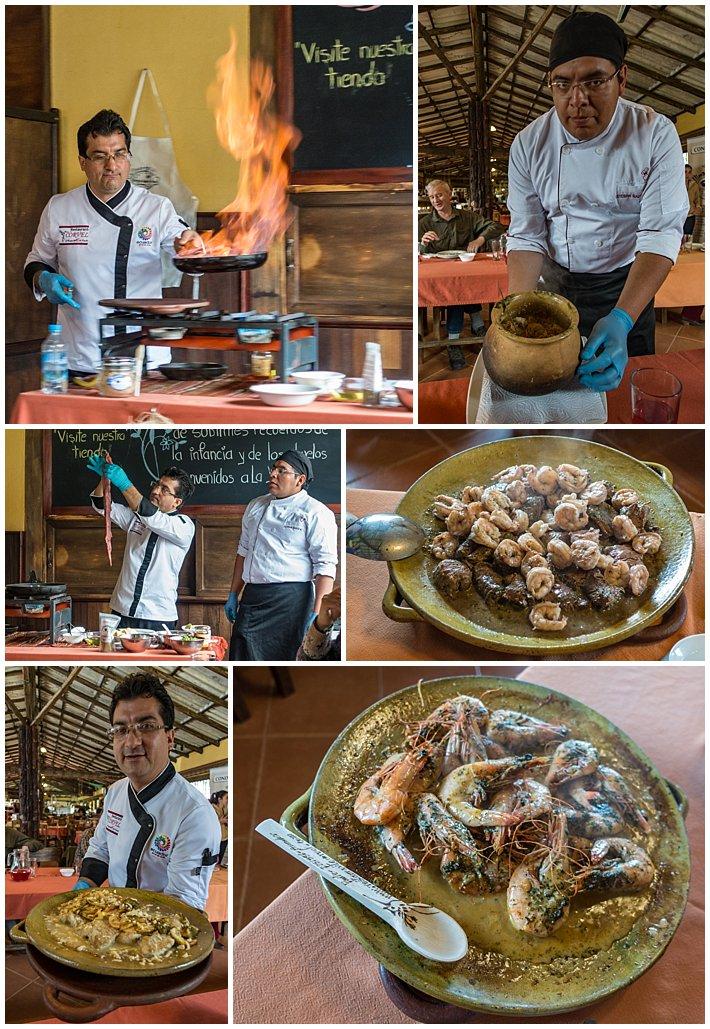 La Yunta Cooking Class Ecuador Food