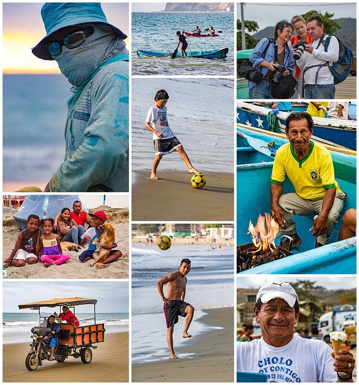 Puerto Lopez Ecuador 2016 people
