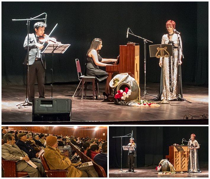 House music concert in Cuenca, Ecuador