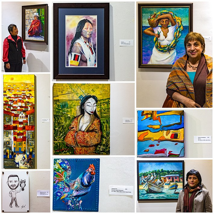 Mayor's Art Gallery Reception - Paintings