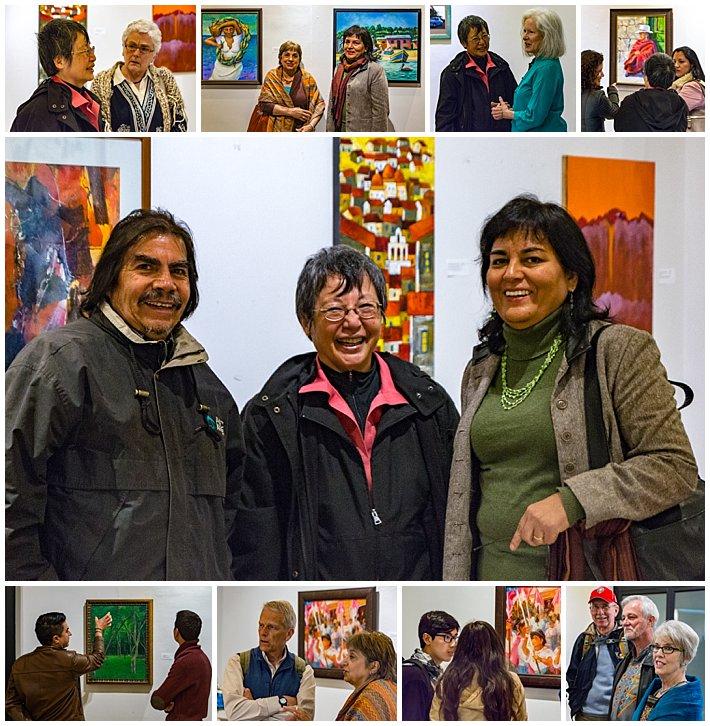 Mayor's Art Gallery Reception - crowd