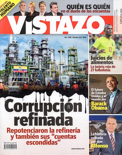 Vistazo Magazine Cover Oct 20, 2016