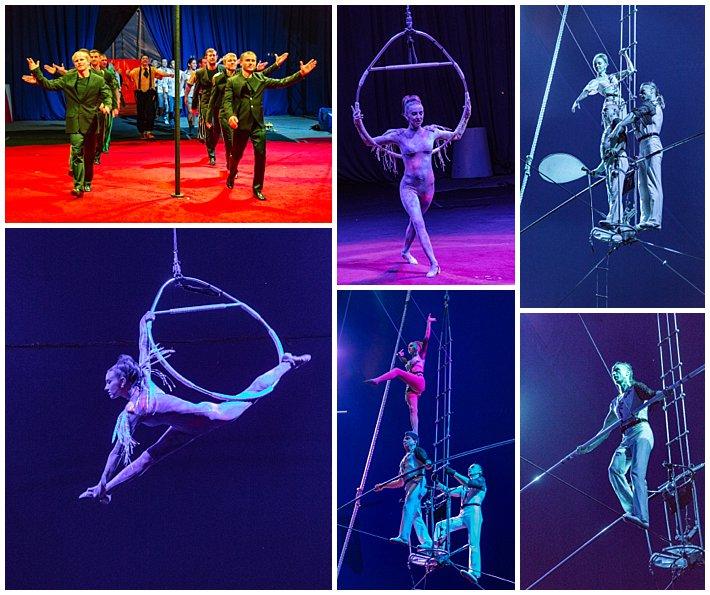 Russian Circus in Cuenca, Ecuador - High Wire
