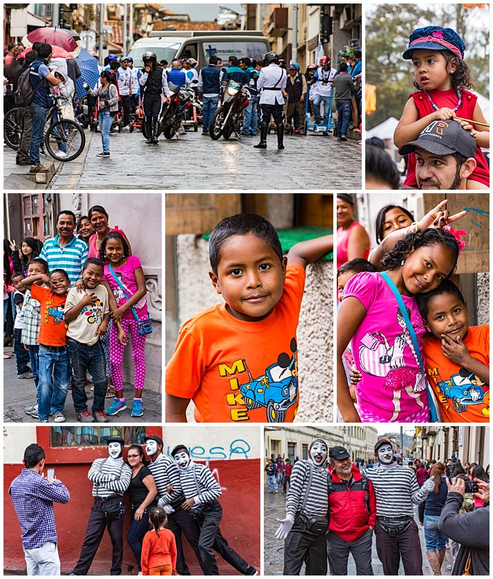 Cuenca Independence Day, Ecuador 2016 - soapbox derby audience