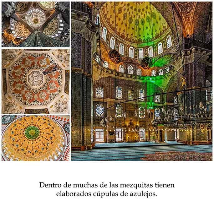 Spanish Class Story - mosque inside