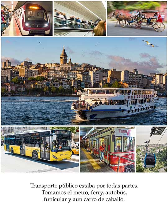 Spanish Class Story - transportation