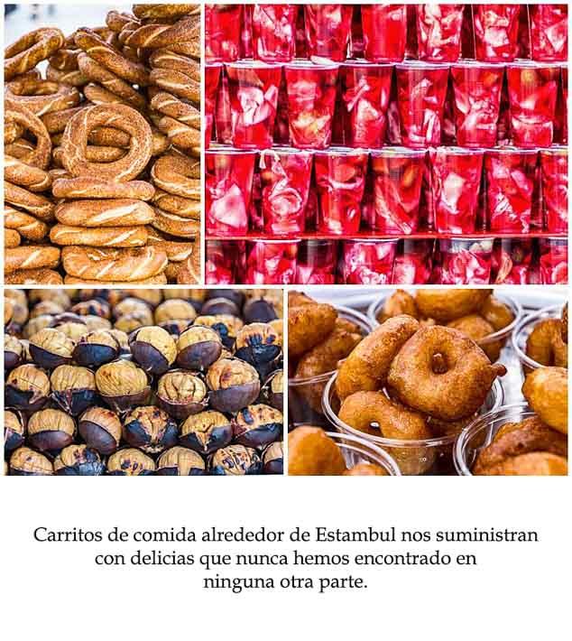 Spanish Class Story - foods