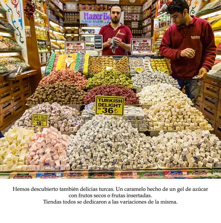 Spanish Class Story - turkish delight