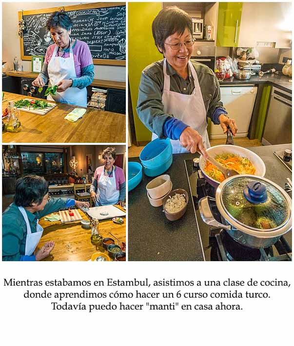 Spanish Class Story - cooking school