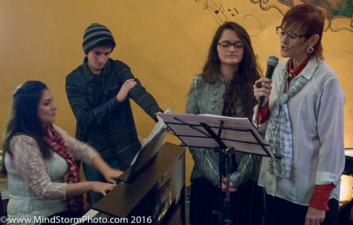 Music at Jazz Society of Ecuador in Cuenca, Dec 21, 2016