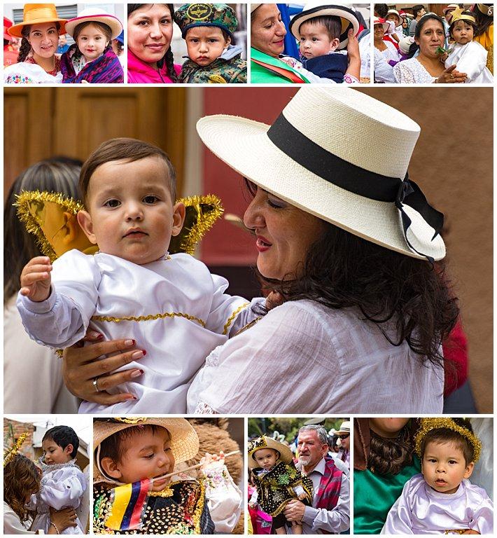 Pase de Niño 2016, Cuenca, Ecuador - babies