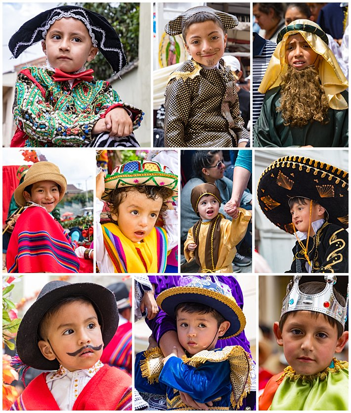 Pase de Niño 2016, Cuenca, Ecuador - boys