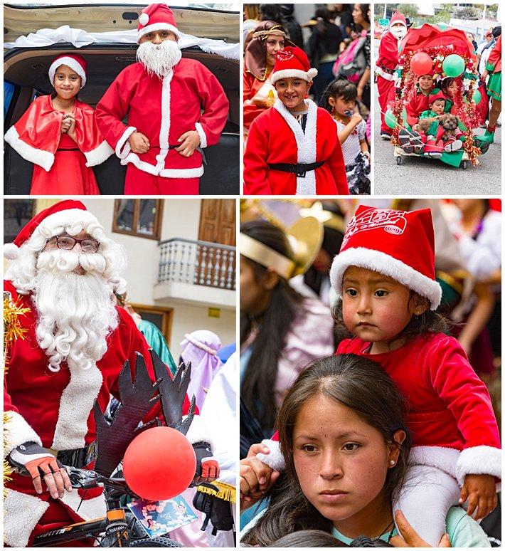 Pase de Niño 2016, Cuenca, Ecuador - santa