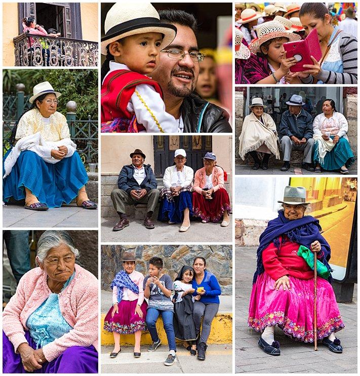 Pase de Niño 2016, Cuenca, Ecuador - audience